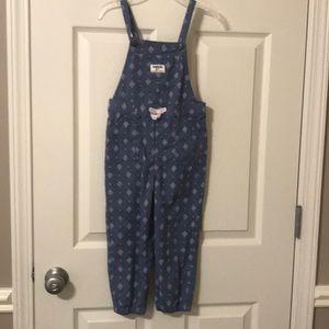 Oshkosh overalls -size 4T